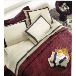 Completo letto Ever bordeaux